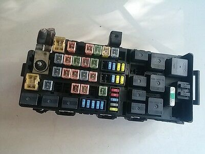 Original 02-10 Ford Explorer Sicherungskasten Fuse Box 3L2T14398ASC