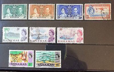 Bahamas. Small Collection KGVI to QEII