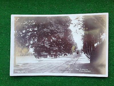Fishponds     The Straits     Bristol     Somerset    Rp    Vintage Postcard