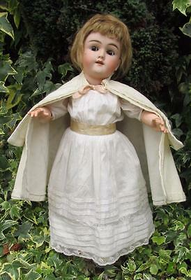 """Beautiful Antique Max Handwerck Bisque Head Doll 19"""" Germany"""