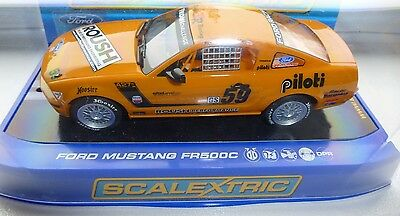 Scalextric C2888 Ford Mustang FR 500C Nr Mint in Box - Working Lights