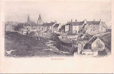 Vintage Postcard  ANSTRUTHER - Old Town - Valentines Series