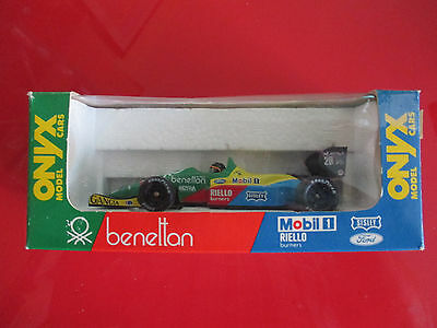 Onyx Die Cast F1 Benetton Ford No B188 Ref.012 Thierry Boutsen Mint Boxed.
