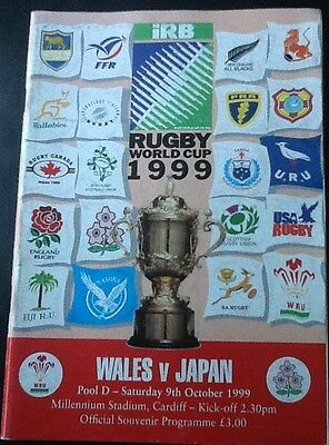 1999 RUGBY WORLD CUP - Wales v Japan