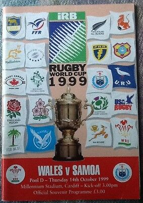 1999 RUGBY WORLD CUP - Wales v Samoa