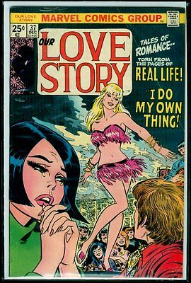 Marvel Comics Our LOVE STORY #37 VG+ 4.5