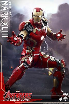 Hot Toys 1/4 Marvel Qs005 Iron Man Mk43 Mark Xliii Avengers Ultron Ovp