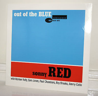SONNY RED - OUT OF THE BLUE VINYL LP BLUE NOTE wynton kelly paul chambers