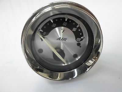 Harley Silver Face 74715-09 Air Temperature Gauge Ultra Classic FLHX
