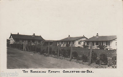 Postcard Gorleston on Sea near Great Yarmouth Norfolk the Bungalow Estate RP