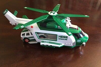 Hess Truck 2012 Helicopter And Rescue In  Excellent Used Condition No Box