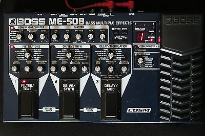 Boss Me50B Bass Multiple Effects Pedal An Awesome Sounding Pedal Ex-Cond & Gwo