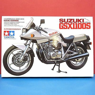 Tamiya 1/12 Suzuki Katana GSX1100S [1/12 Motorcycle Series] model kit #14010