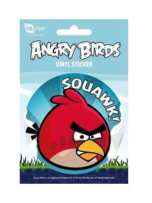 Angry Birds Vinyl Sticker - Squawk! - NEW & OFFICIAL CLEARANCE SALE