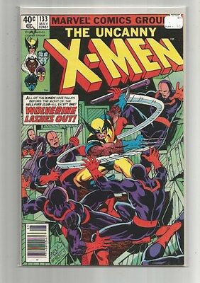 X-Men 133 Nm-  1St Solo Wolverine Cover    Byrne  Claremont  1980