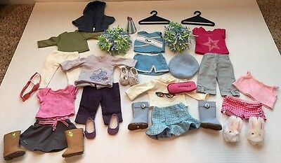 American Girl doll Authentic Tagged Clothes Accessories Shoes Lot