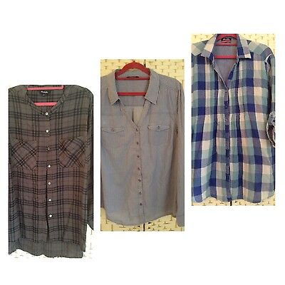 3 Ladies Shirts Size 16/18