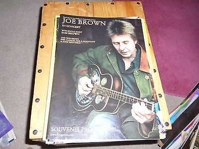 TOUR PROGRAMME ; JOE BROWN; IN CONCERT ;  with SAM BROWN ;  2006