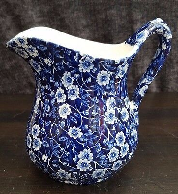 "Burleigh Calico Jug  6"" high"