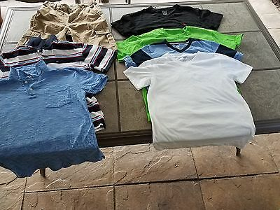Boys Youth-Old Navy, Tommy, Fof Loom,polo Lot(7) Size 14/16/18