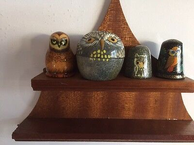 Russian Owls -3 Items (4 Pieces).
