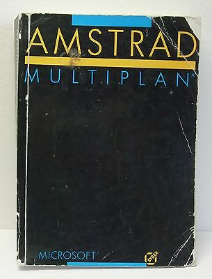 AMSTRAD : Multiplan (éditions Sybex)
