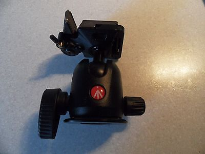 Manfrotto 496RC2 Compact Ball Tripod Head with plate y331