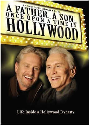 A Father...A Son...Once upon a Time in Hollywood (DVD, 2006) Kirk Douglas  [NEW]