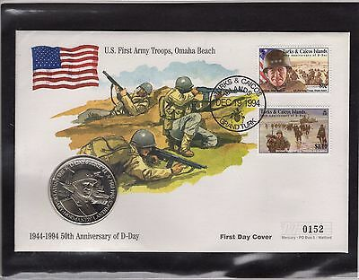 D-Day Anniversary Coin Cover 152