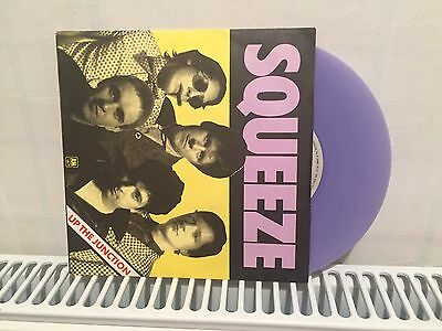 Rare Squeeze 'Up The Junction' Purple Vinyl Single