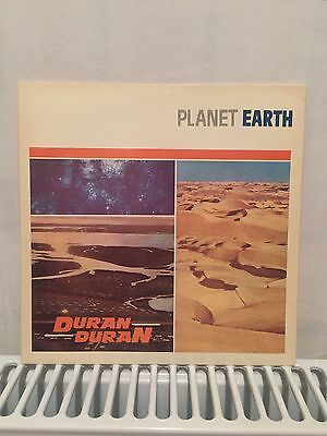 Rare Duran Duran 'Planet Earth' Vinyl Single