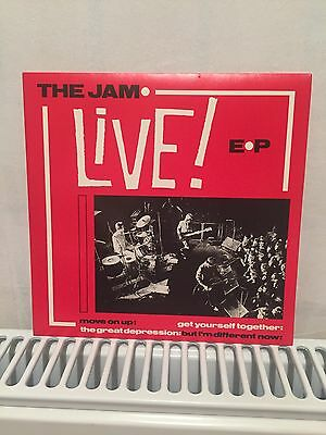 Rare The Jam 'Live EP' Move On Up Vinyl Single