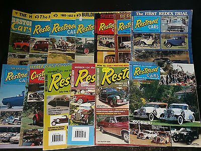 Restored Cars Magazines 13 Of