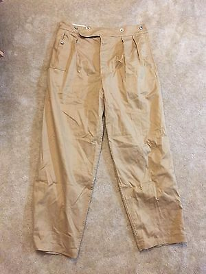 Repro WPG WWII Khaki Drill KD Trousers - Size 38
