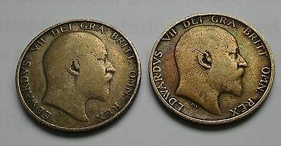 Shillings 1902 And 1907