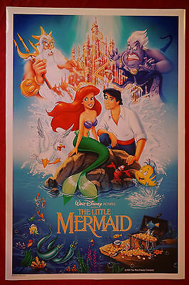 Walt Disney The Little Mermaid Flounder Movie Picture Poster 24X36 New