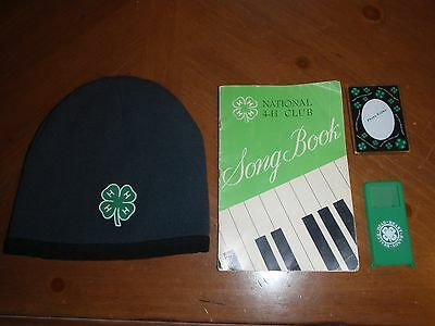 4-H Club - National Song Book/Beanie/Magnet Picture Frame/iPod Case
