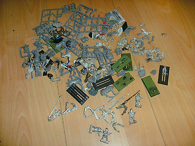 Warhammer Bretonnian spares, bits, knights of the realm, grail, xbow crossbowmen