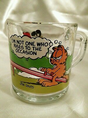 Garfield  glass coffee mug