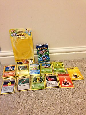 Set of Early Pokemon Trading Cards 2000 + Packaging