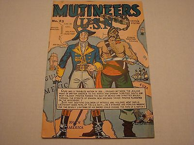 Mutineers U.S.N #23 Golden Age comics Canadian Edition VF condition