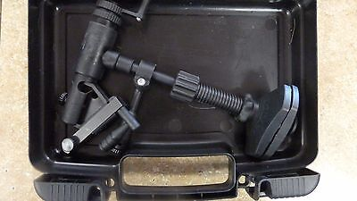Danica Danvise Fly Tying Vice Vise Cam Jaw action fully rotating Clamp with Case