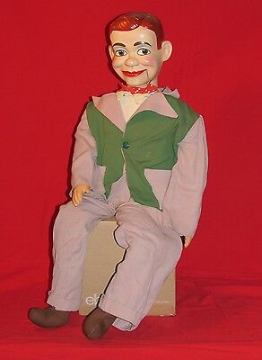 Vintage Jerry Mahoney Ventriloquist Dummy Doll by Juro