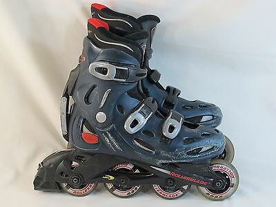 Rollerblade Training PFS Men's Size 8 US Inline Skates Excellent Condition