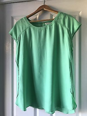 Country Road Ladies Summer Short Sleeve Top Size L EUC