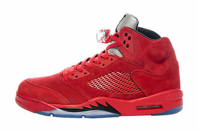 New Youth Air Jordan Retro 5 GS Shoes (440888-602) University Red/Black-Univ Red