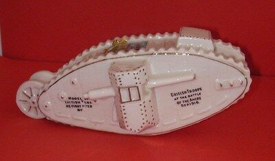 Savoy Crested China   WW1 British Tank  BRIDGNORTH Crest