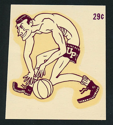 University of Portland _RARE ORIG 40's Decal  VTG College NCAA Pilots Basketball