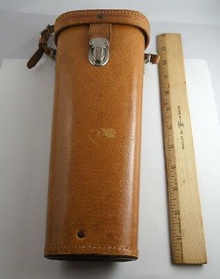 Early 50's Orignial Leather United Binoculars Chicago 20 Storage/Carry Case