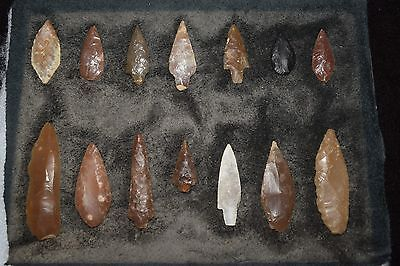extremely rare museum quality Afghanistan arrowhead collection